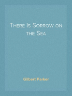 There Is Sorrow on the Sea