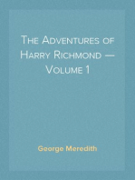 The Adventures of Harry Richmond — Volume 1