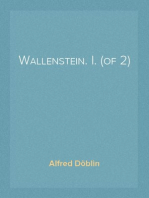 Wallenstein. I. (of 2)