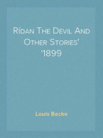 Rídan The Devil And Other Stories 1899