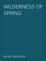 Wilderness of Spring
