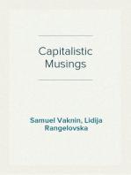 Capitalistic Musings