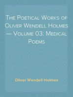 The Poetical Works of Oliver Wendell Holmes — Volume 03