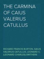 The Carmina of Caius Valerius Catullus