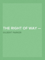 The Right of Way — Volume 02