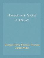 Hafbur and Signe a ballad