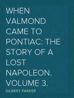 When Valmond Came to Pontiac