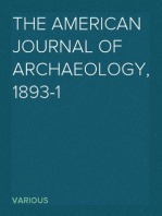 The American Journal of Archaeology, 1893-1