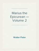 Marius the Epicurean — Volume 2