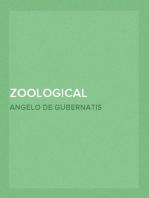 Zoological Mythology (Volume II) or The Legends of Animals (Vol. II of II)