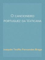 O cancioneiro portuguez da Vaticana