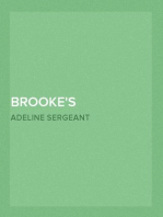 Brooke's Daughter A Novel