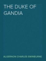 The Duke of Gandia