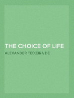 The Choice of Life