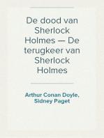 De dood van Sherlock Holmes — De terugkeer van Sherlock Holmes
