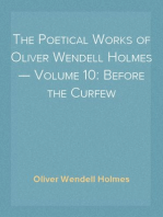 The Poetical Works of Oliver Wendell Holmes — Volume 10