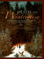 Death in Winterreise: Musico-Poetic Associations in Schubert's Song Cycle