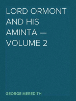 Lord Ormont and His Aminta — Volume 2