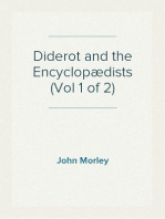 Diderot and the Encyclopædists (Vol 1 of 2)