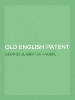 Old English Patent Medicines in America