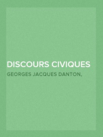 Discours Civiques de Danton