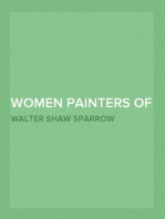 Women Painters of the World From the Time of Caterina Vigri, 1413-1463, to Rosa Bonheur and the Present Day