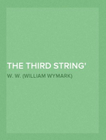 The Third String Odd Craft, Part 12.