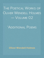The Poetical Works of Oliver Wendell Holmes — Volume 02