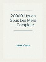20000 Lieues Sous Les Mers — Complete