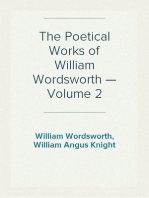 The Poetical Works of William Wordsworth — Volume 2