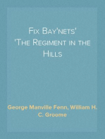 Fix Bay'nets The Regiment in the Hills
