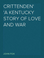Crittenden A Kentucky Story of Love and War