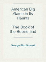 American Big Game in Its Haunts
