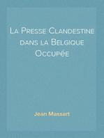 La Presse Clandestine dans la Belgique Occupée