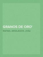 Granos de oro Pensamientos Seleccionados en las Obras de José Martí