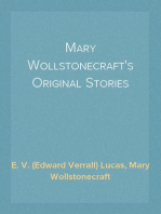 Mary Wollstonecraft's Original Stories