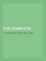 The Complete Poems of Sir Thomas Moore Collected by Himself with Explanatory Notes