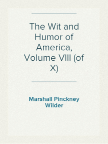The Wit and Humor of America, Volume VIII (of X)