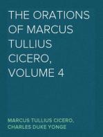 The Orations of Marcus Tullius Cicero, Volume 4