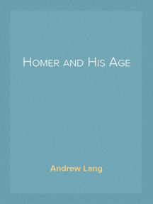Homer and His Age