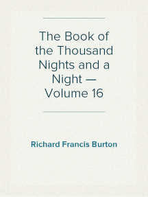 The Book of the Thousand Nights and a Night — Volume 16