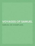 Voyages of Samuel De Champlain — Volume 01