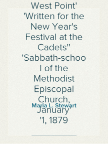 Our Little Brown House, A Poem of West Point Written for the New Year's Festival at the Cadets' Sabbath-school of the Methodist Episcopal Church, January 1, 1879