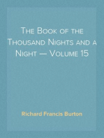 The Book of the Thousand Nights and a Night — Volume 15