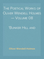 The Poetical Works of Oliver Wendell Holmes — Volume 08