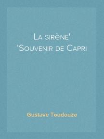 La sirène Souvenir de Capri