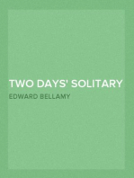 Two Days' Solitary Imprisonment 1898