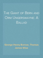 The Giant of Bern and Orm Ungerswayne