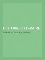 Histoire littéraire d'Italie (3/9)