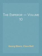 The Emperor — Volume 10